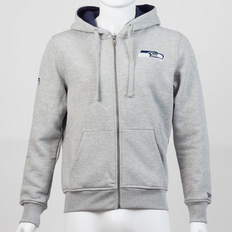 Sweat à capuche zippé New Era Hdy NFL Seattle Seahawks - Touchdown Shop