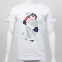 T-shirt QB splash NFL New England Patriots