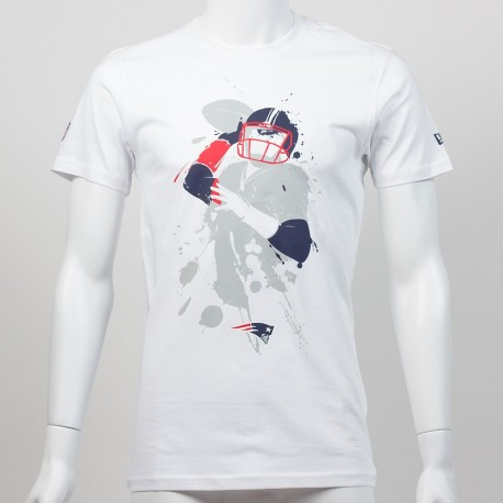 T-shirt QB splash NFL New England Patriots - Touchdown shop
