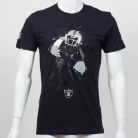 T-shirt QB splash NFL Oakland Raiders