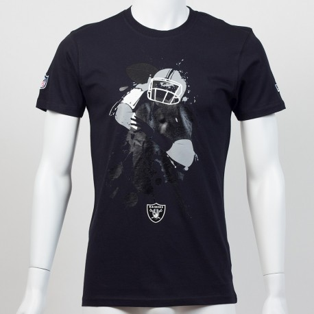 T-shirt QB splash NFL Oakland Raiders - Touchdown shop