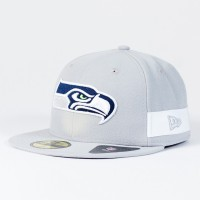 Casquette Seattle Seahawks NFL Side block 59FIFTY Fitted New Era
