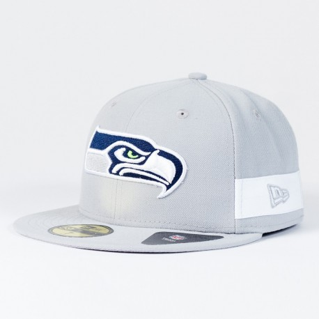 Casquette Seattle Seahawks NFL Side block 59FIFTY Fitted New Era - Touchdown Shop