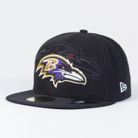 Casquette Baltimore Ravens NFL Sideline 59FIFTY Fitted New Era - Touchdown Shop