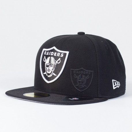 Casquette Oakland Raiders NFL Sideline 59FIFTY Fitted New Era - Touchdown Shop