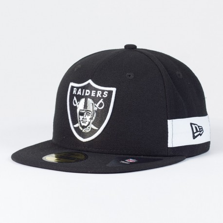 Casquette Oakland Raiders NFL Side block 59FIFTY Fitted New Era - Touchdown Shop