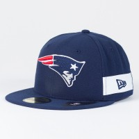 Casquette New England Patriots NFL Side block 59FIFTY Fitted New Era