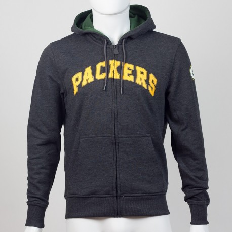 Sweat à capuche zippé Green Bay Packers NFL team apparel New Era - Touchdown Shop