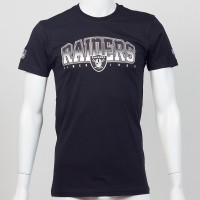 T-shirt Oakland Raiders NFL fan New Era - Touchdown Shop