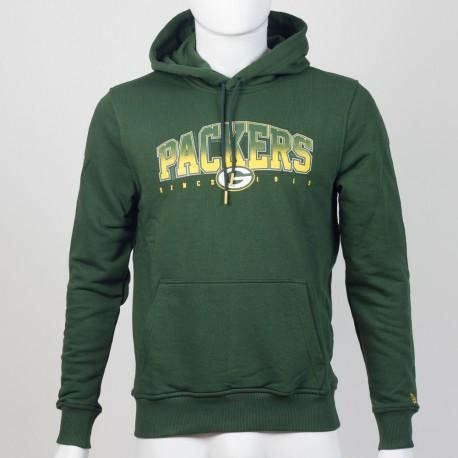 Sweat à capuche Green Bay Packers NFL fan New Era - Touchdown Shop