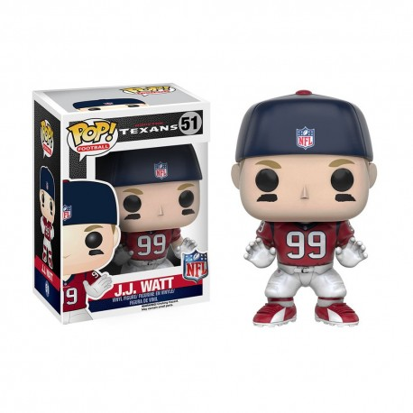 Figurine NFL J.J. Watt N°51 série 3 Funko POP - Touchdown Shop