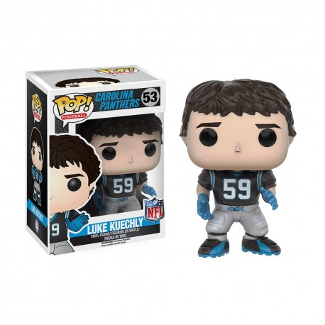 Figurine NFL Luke Kuechly N°53 série 3 Funko POP - Touchdown Shop