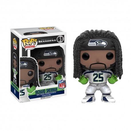 Figurine NFL Richard Sherman N°61 série 3 Funko POP - Touchdown Shop