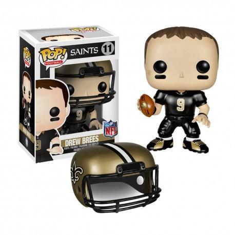 Figurine NFL Drew Brees N°11 série 1 Funko POP - Touchdown Shop