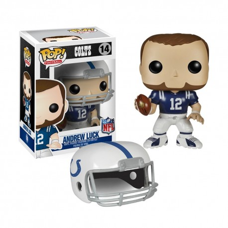 Figurine NFL Andrew Luck N°14 série 1 Funko POP - Touchdown Shop