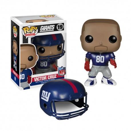 Figurine NFL Victor Cruz N°19 série 1 Funko POP - Touchdown Shop