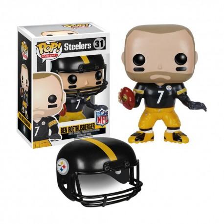 Figurine NFL Ben Roethlisberger N°31 série 2 Funko POP - Touchdown Shop