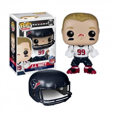 Figurine NFL J.J. Watt N°34 série 2 Funko POP - Touchdown Shop