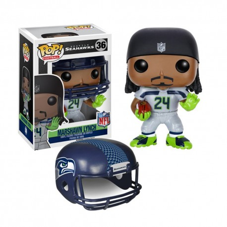 Figurine NFL Marshawn Lynch N°36 série 2 Funko POP - Touchdown Shop