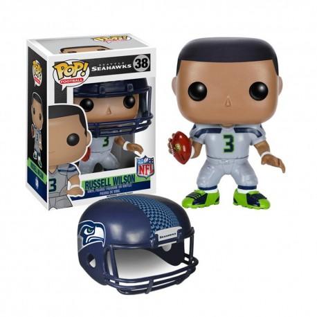 Figurine NFL Russel Wilson N°38 série 2 Funko POP - Touchdown Shop