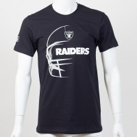 T-shirt Las Vegas Raiders NFL headshot New Era - Touchdown Shop