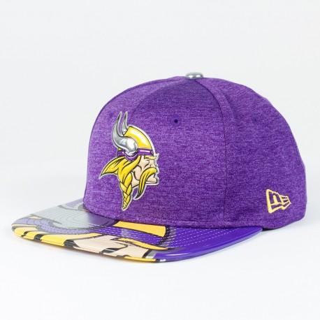 Casquette Minnesota Vikings NFL Draft 2017 9FIFTY snapback New Era - Touchdown Shop
