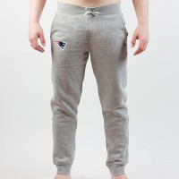 Pantalon de survêtement New Era Team track gris NFL New England Patriots