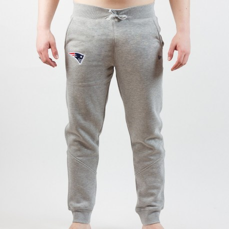 Pantalon de survêtement New Era Team track gris NFL New England Patriots - Touchdown Shop