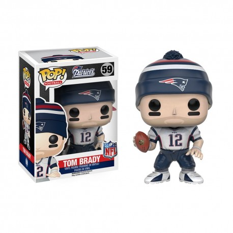 Figurine NFL Tom Brady N°59 série 3 Funko POP - Touchdown Shop
