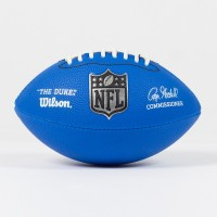 Mini ballon NFL Duke replica bleu