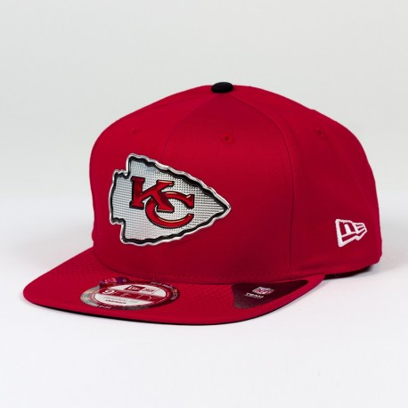 Casquette New Era 9FIFTY snapback Draft 2015 NFL Kansas City Chiefs - Touchdown Shop
