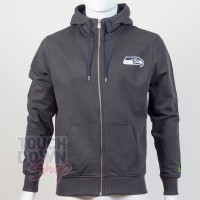 Sweat à capuche zippé Seattle Seahawks NFL FZ team apparel New Era - Touchdown Shop