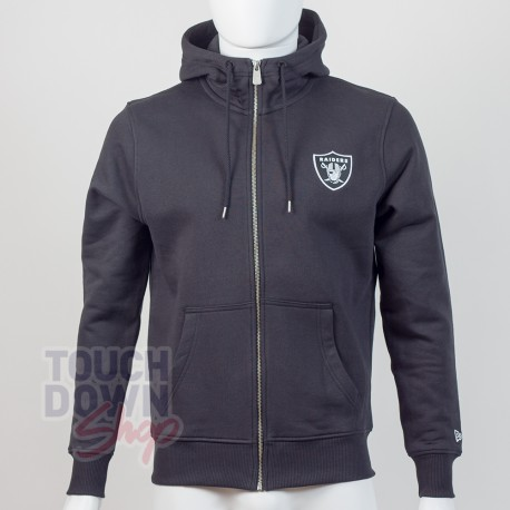 Sweat à capuche zippé Oakland Raiders NFL FZ team apparel New Era - Touchdown Shop