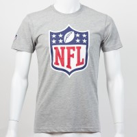 T-shirt New Era team logo NFL gris