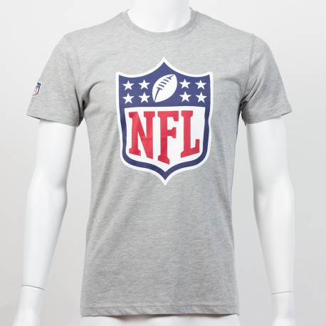 T-shirt New Era team logo NFL gris - Touchdown Shop