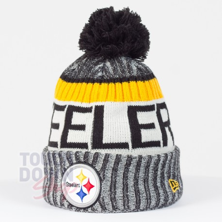 Bonnet Pittsburgh Steelers NFL On Field sport New Era - Touchdown Shop