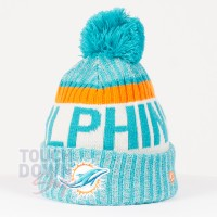 Bonnet Miami Dolphins NFL On Field sport New Era - Touchdown Shop