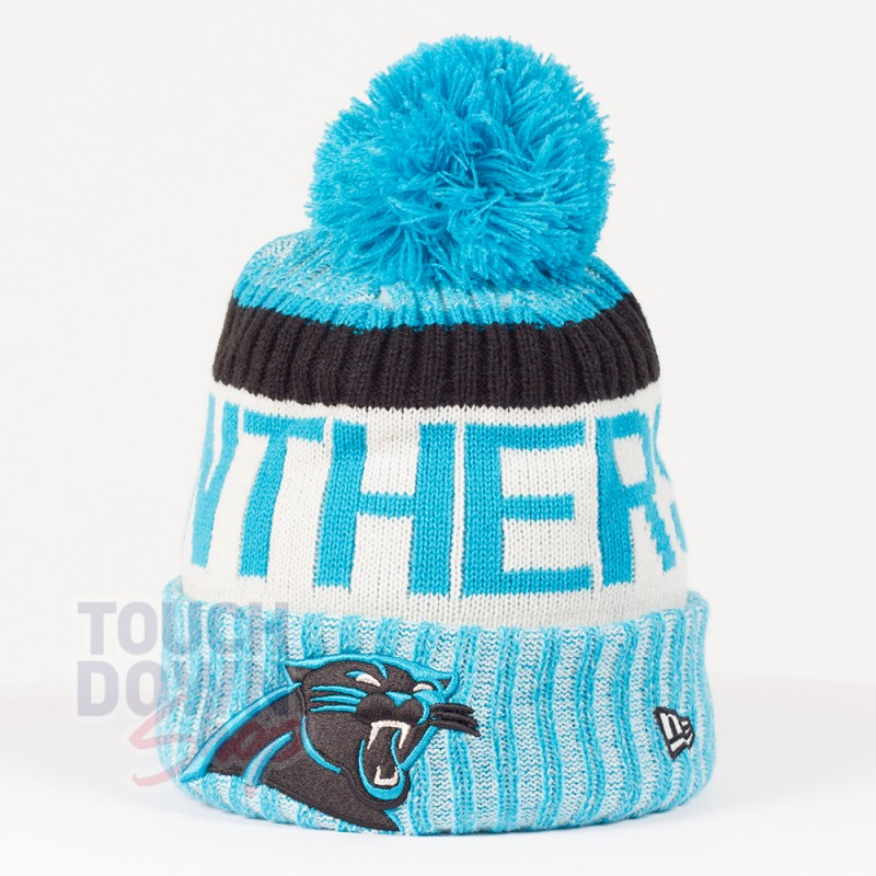 Bonnet Carolina Panthers NFL On Field sport New Era - Touchdown Shop.  Loading zoom 640b80b0bc8f