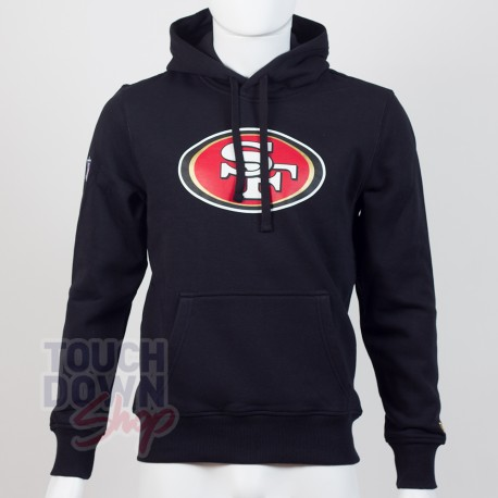 Sweat à capuche New Era team logo NFL San Francico 49ers - Touchdown Shop