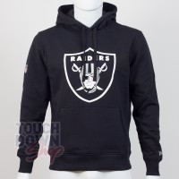 Sweat à capuche New Era team logo NFL Oakland Raiders - Touchdown Shop