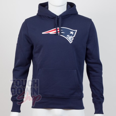Sweat à capuche New Era team logo NFL New England Patriots - Touchdown Shop