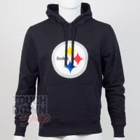 Sweat à capuche New Era team logo NFL Pittsburgh Steelers - Touchdown Shop