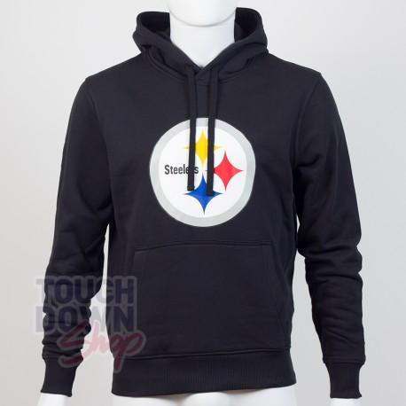 Sweat à capuche New Era team logo NFL Pittsburgh Steelers - Touchdown Shop
