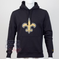 Sweat à capuche New Era team logo NFL New Orleans Saints - Touchdown Shop