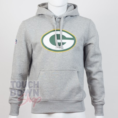 Sweat à capuche New Era team logo NFL Green Bay Packers - Touchdown Shop