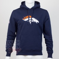 Sweat à capuche New Era team logo NFL Denver Broncos - Touchdown Shop