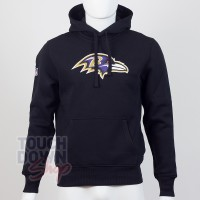 Sweat à capuche New Era team logo NFL Baltimore Ravens - Touchdown Shop