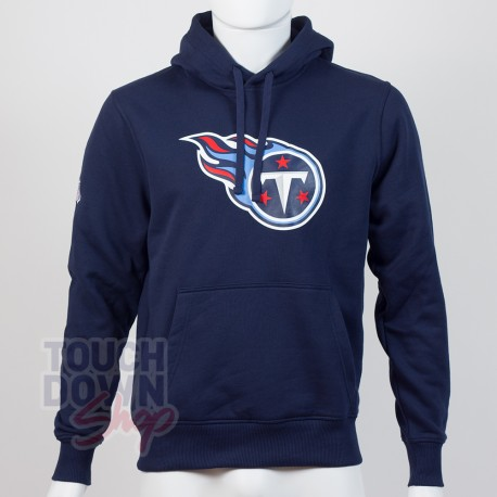 Sweat à capuche New Era team logo NFL Tennessee Titans - Touchdown Shop