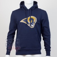 Sweat à capuche New Era team logo NFL Los Angeles Rams