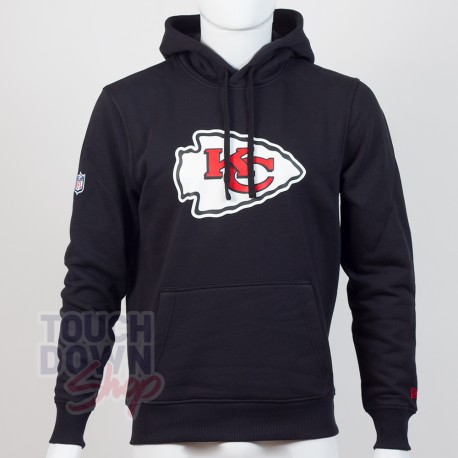 Sweat à capuche New Era team logo NFL Kansas City Chiefs - Touchdown Shop